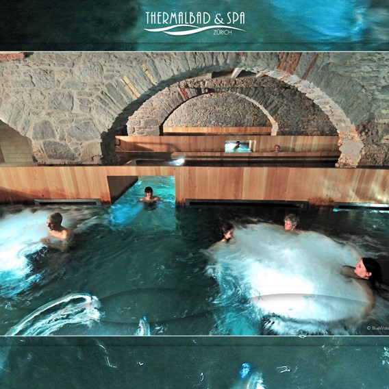 Reduced entrance fee for Zurich Thermal Baths & Spa