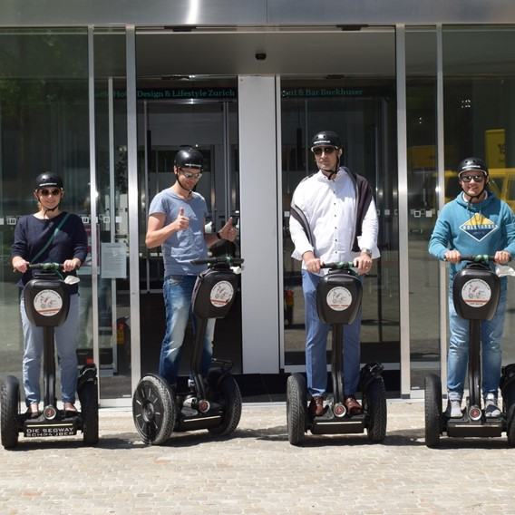 New Segway City Tours location near Placid Hotel Zurich