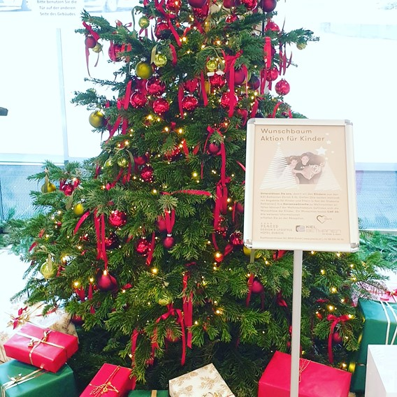 Wish tree campaign for children