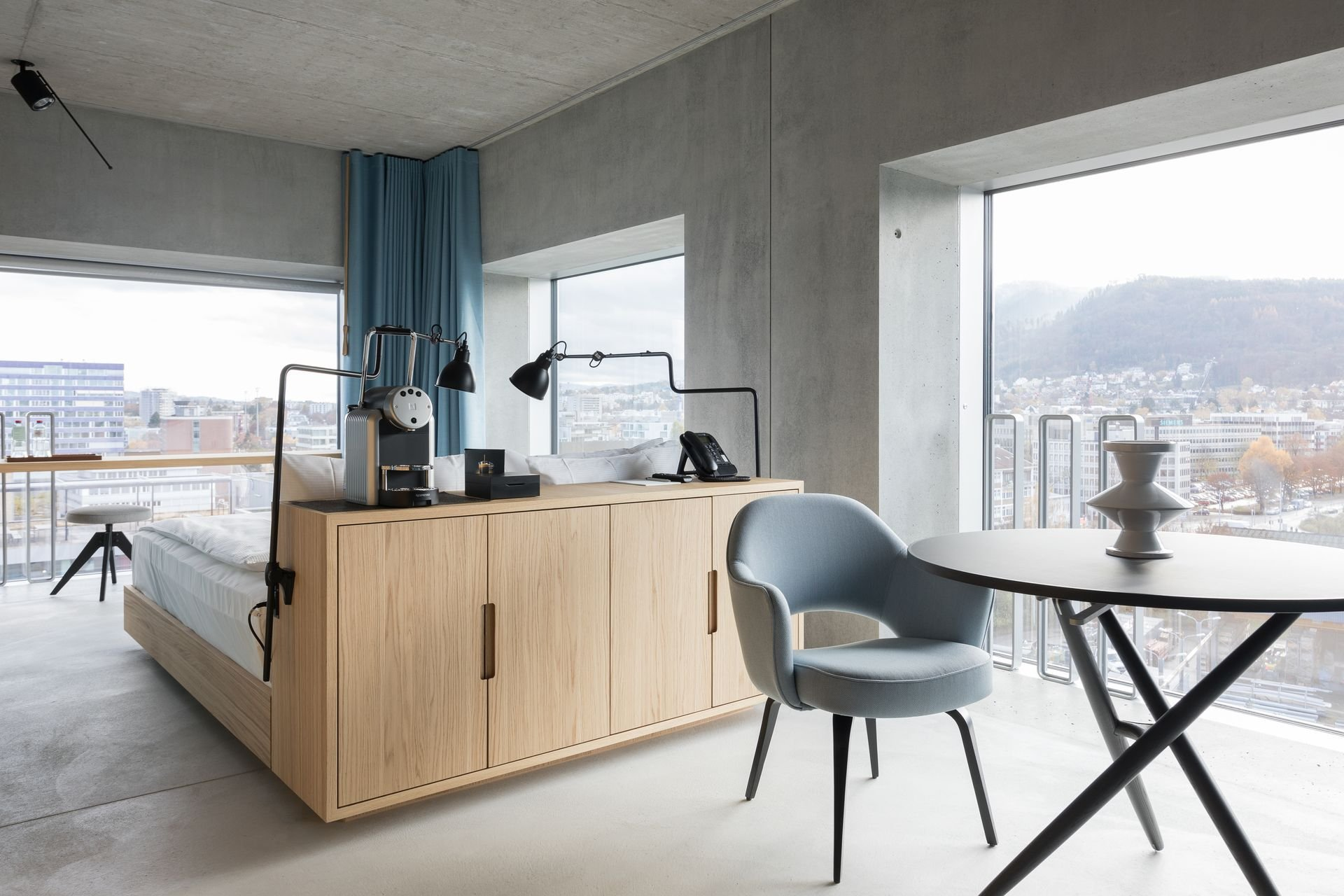 The placid new business hotel in zurich altstetten for Schweiz design hotel